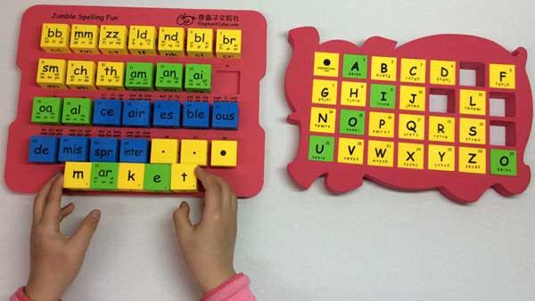 國小英文字母拼字骰子 自然拼音骰子 英文字母字群骰子
