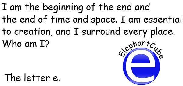英文字母e 謎語