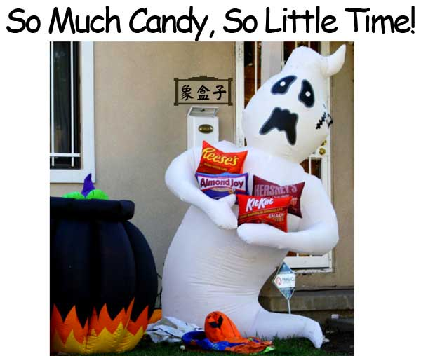 萬聖節 halloween 糖果 candy 不可數名詞 candies 可數名詞