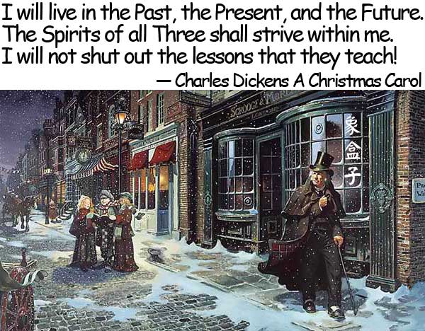 Charles Dickens A Christmas Carol 狄更斯 聖誕節頌歌 聖誕頌歌 小氣財神 現在 過去 未來