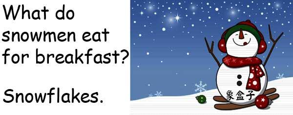snowmen snowman snowflakes cornflakes