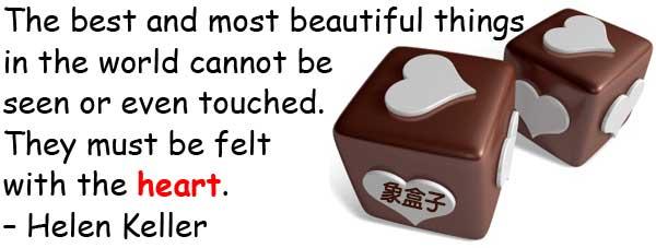 heart Helen Keller 海倫凱勒 Valentine's Day 情人節 2月14日