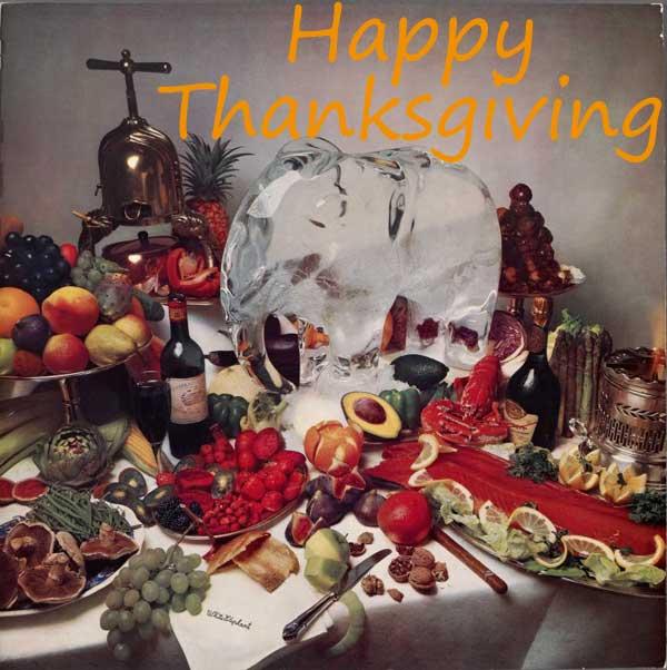 感恩節快樂 Happy Thanksgiving