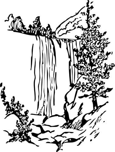 瀑布 watrfall