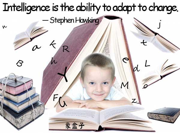 intelligence change Stephen Hawking
