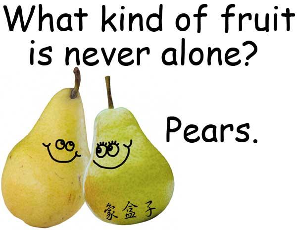 pear pair homophones