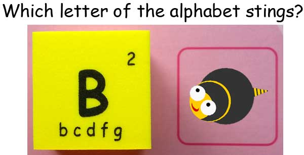 b bee sting