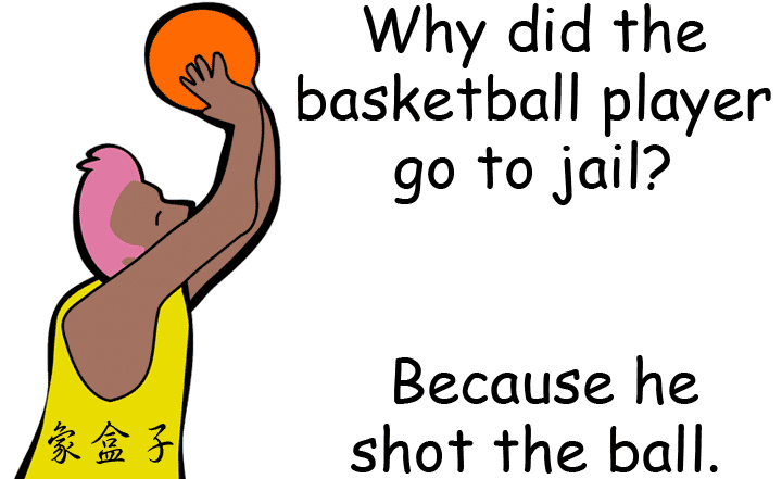 投籃 shoot a ball 籃球 basketball