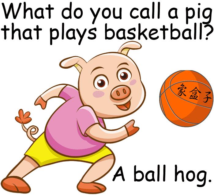 ball hog 球豬 球霸 籃球 basketball