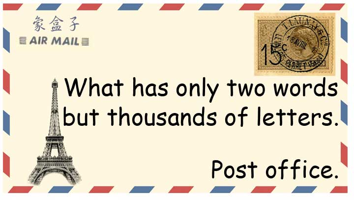 post office letters