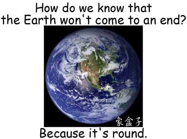 earth round 地球是圓的