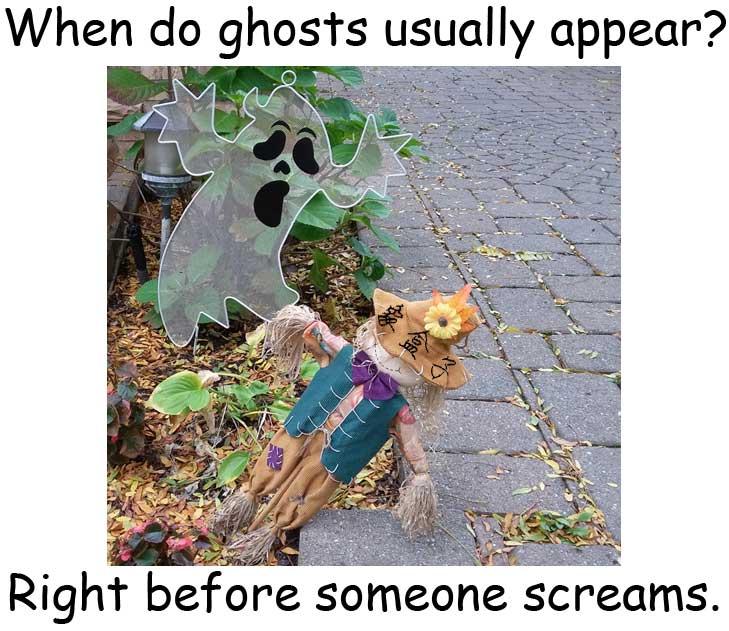 ghost 鬼 scream 尖叫