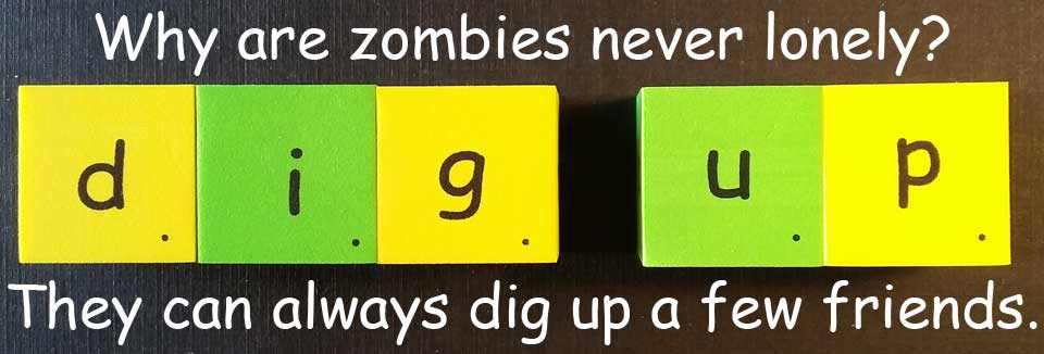 zombie 殭屍 dig up 挖掘 挖出