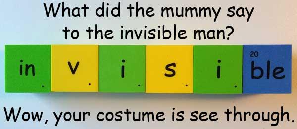 invisible (看不見的 / 隱形的)