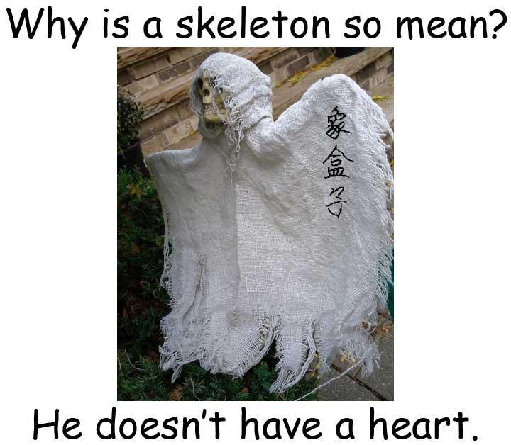 skeleton 骷髏骨