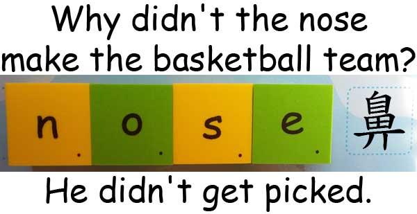 籃球 basketball nose 鼻子