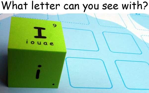 英文字母 English alphabet i eye 眼睛