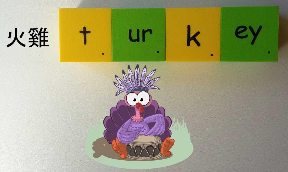 key turkey 火雞 無用的東西