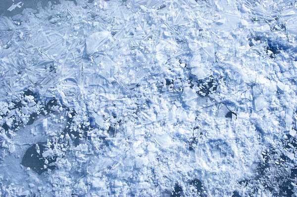 冰 ice crack 裂開