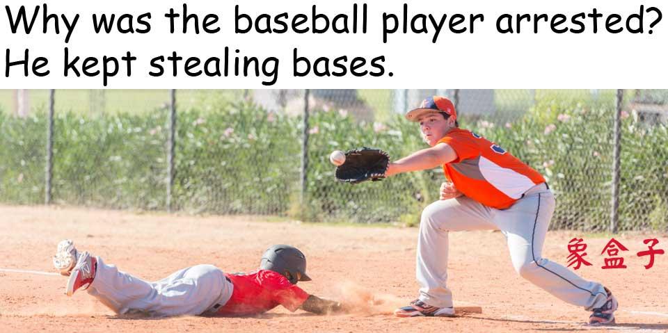 baseball 棒球 盜壘 stealing bases